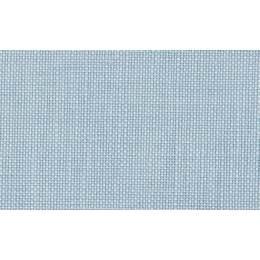 Coupon 70/50 cm. pur lin 12fils au cm bleu - 47