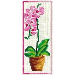 Marque page orchidee - 47