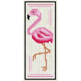 Marque page Flamant rose - 47