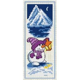 Marque page Bonhomme de neige - 47