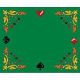 Kit point compté tapis jeu de carte aïda - 47