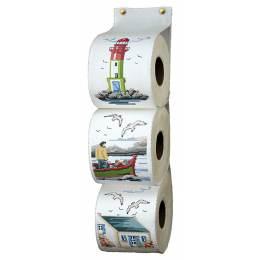 Kit pt cpté - range papier toilette marin - 47