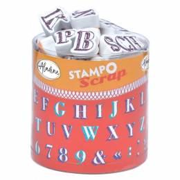 Tampon Aladine stampo scrap alphabet crayonne - 470