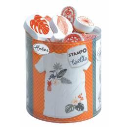 Tampon Aladine textile tropical - 470