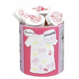 Tampon Aladine textile magical licorne - 470