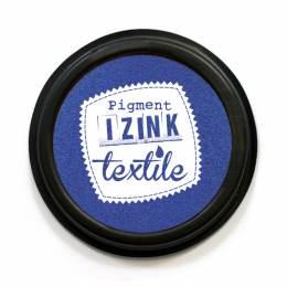 Encreur izink textile Aladine bleu fonce - 470