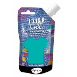 Izink peinture textile Aladine vert d eau 80 ml - 470