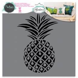 Pochoir textile Aladine ananas - 470