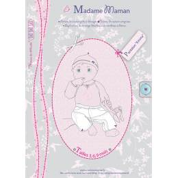 Patron Madame Maman pantalon Emma 3-6-9 mois - 472