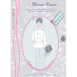 Patron Madame Maman manteau Henry 5 ans - 472