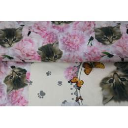 Panneau jersey Stenzo 75x150cm digital print cats - 474