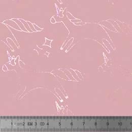 Tissu Stenzo French Terry motifs lurex - 474