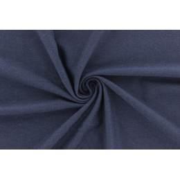 Jersey de bambou teint 155 cm marine - 474
