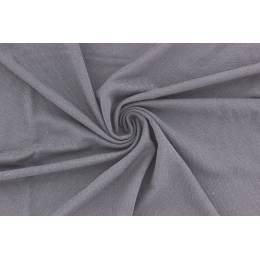 Jersey de bambou teint 155 cm gris - 474
