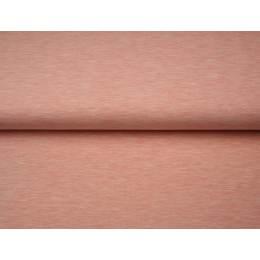 Tissu Stenzo sweat mélangé chiné rosé 150cm - 474