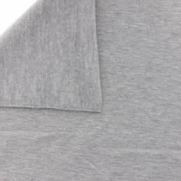 Tissu Stenzo sweat coton gris clair chiné 160cm - 474