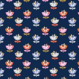 Tissu Dashwood amélie navy1 - 476