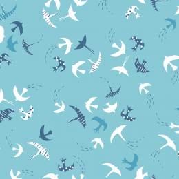 Tissu Dashwood ditsies birds sky - 476
