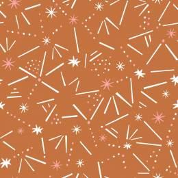 Tissu Dashwood ditsies stars ginger - 476