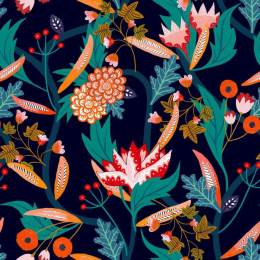 Tissu Dashwood Gardenia - 476