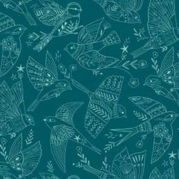 Tissu coton Dashwood Aviary - 476