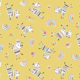Tissu quilting Dashwood Rainbow friends - 476