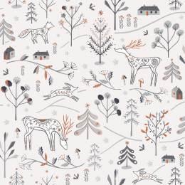 Coupon Dashwood winter fold 100 x 110 cm - 476