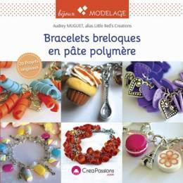 Bracelets et breloques en pâte polymère - 482