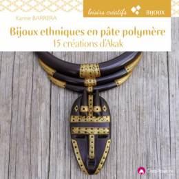 Bijoux ethniques en pâte polymère - 482