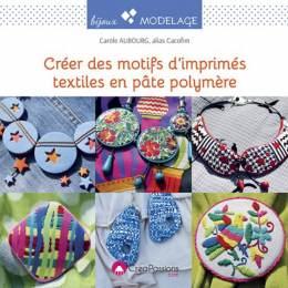 Créer des motifs d'mprimés textiles en pâte polymè - 482