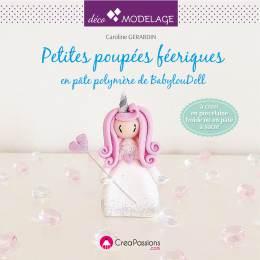 Petites poupées féériques en porcelaine froide - 482