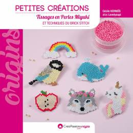 Petites créations tissage de perles miyuki - 482