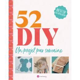 Livre Créapassions 52 DIY un projet par semaine - 482