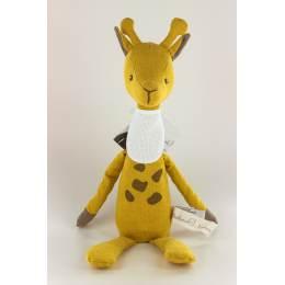 Doudou à broder April la girafe - 485