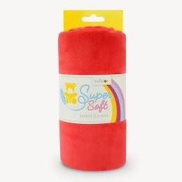 Tissu peluche Kullaloo shorty 1,5 mm rouge - 486
