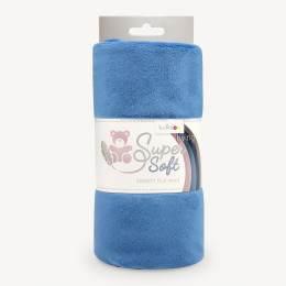 Tissu peluche Kullaloo shorty 1,5 mm bleu - 486