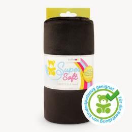 Tissu peluche shorty 1,5 mm 75 x 100 cm chocolat - 486