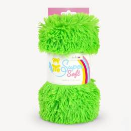 Tissu peluche Kullaloo shaggy 20mm vert - 486