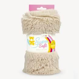 Tissu peluche Kullaloo shaggy 20mm beige - 486