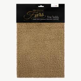 Tissu peluche fantastic 10mm 75 x 100 cm brun - 486