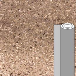 Coupon tissu pailleté caviar bronze 50 x 69 cm - 488