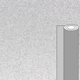 Coupon tissu pailleté argent 50 x 69 cm - 488