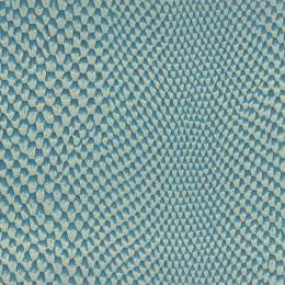 Tissu simili cuir iguane bleu - 488