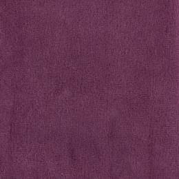 Tissu Stof Avalana velours stretch prune - 489