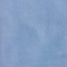 Tissu Stof Avalana velours stretch ciel - 489