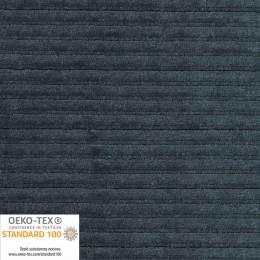 Tissu Stof velours stretch Avalana gris f. à côte - 489