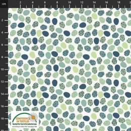 Tissu Stof Fabrics Follow my footprint - 489