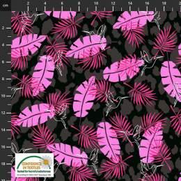 Tissu Stof Fabrics Wild with the wild - 489