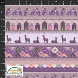 Tissu Stof Fabrics Knitting nook - 489