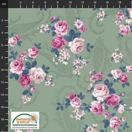 Tissu Stof Fabrics Gigi-rose - 489